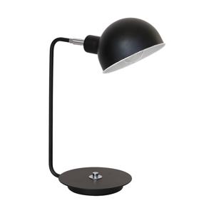 Luminex Stolní lampa DEVIN 1 1xE27/60W černá LU1338