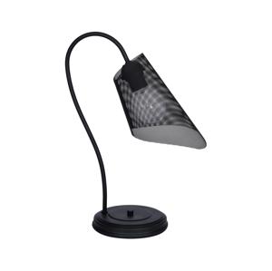 Luminex Stolní lampa GAVI 1xE27/60W/230V černá LU8037