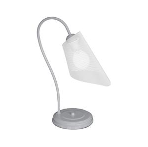 Luminex Stolní lampa GAVI 1xE27/60W/230V šedá LU8030