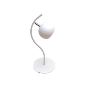 Helam Stolní lampa MORRIS 1xE27/60W/230V bílá HE269