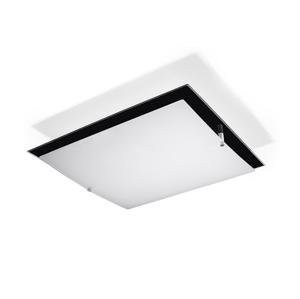 Sollux Stropní svítidlo FABIO 2xE27/60W/230V bílá/černá SLX0130