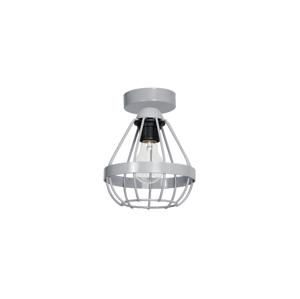 Decoland Stropní svítidlo RING 1xE27/60W/230V šedé DE9529