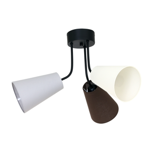Luminex Stropní svítidlo TUBLES 3xE27/60W/230V LU8785