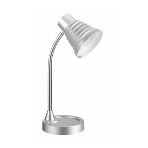 TOP LIGHT Top Light - Stolní lampa SILVIA 1xE14/40W/230V stříbrná TP0850