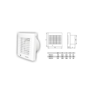 Elkov Ventilátor 4/S EK89800310