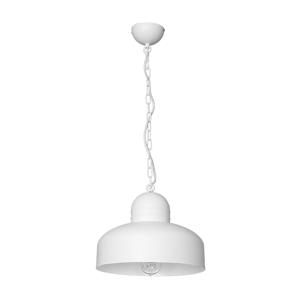 Luminex Závěsné svítidlo DAVE 1xE27/60W bílá LU1383