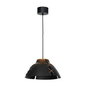Luminex Závěsné svítidlo EDANA 1xE27/60W patina černo zlatá LU5523